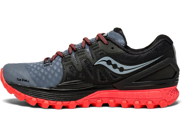 b35b6e40 saucony Xodus ISO 2 Shoes Women grey/black/vizipro red